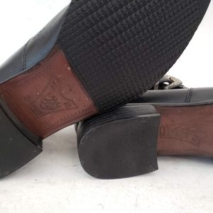 Ariat Shoes - Ariat Black Leather Booties 9.5 B / EUR 40.5M